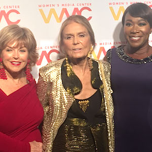 Pat Mitchell, Gloria Steinem, Joy Reid